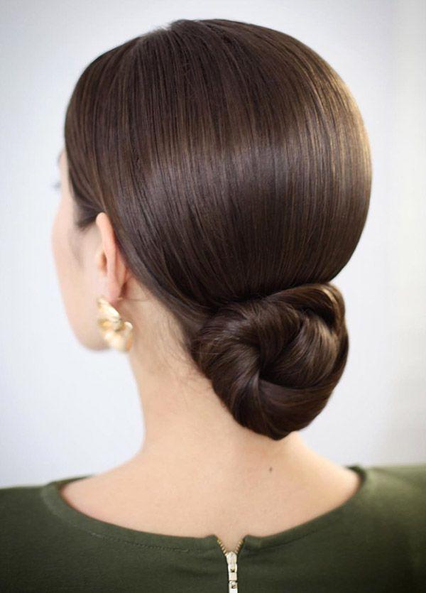 Trending Hairstyles 2019 – Easy Hair Bun