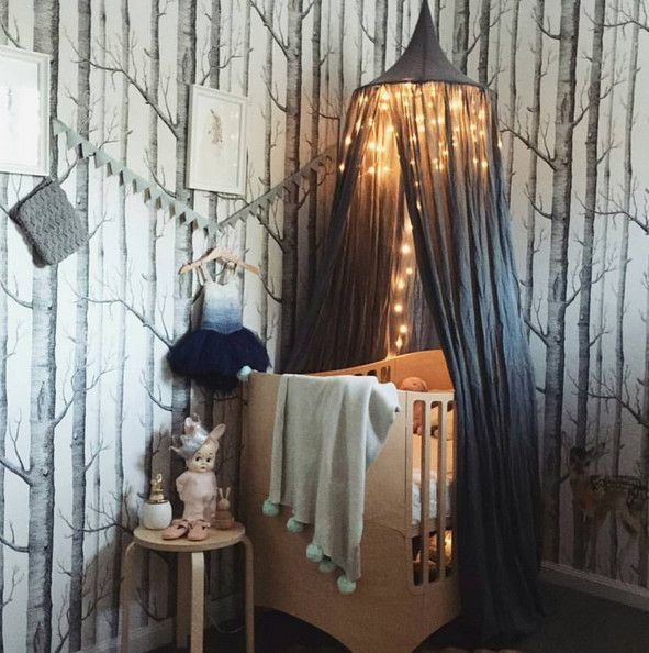 Enchanted Forest Nursery - Adorable Nursery Ideas from Instagram - Photos                                                                                                                                                                                 More