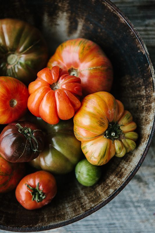All I want to eat these days is tomatoes. Can't wait for mine to ripen soon!