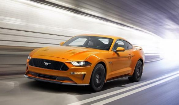 2018 Ford Mustang Changes