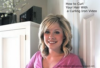 The Small Things Blog: How to Curl Your Hair With a Curling