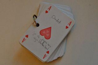 DIY: Kaartspel 52 redenen waarom ik van je hou - Mamaliefde