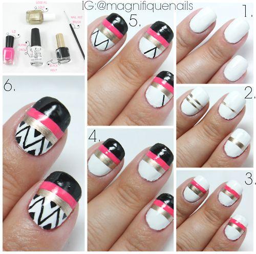 nail art paso a paso - Buscar con Google