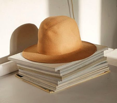 hat stand.