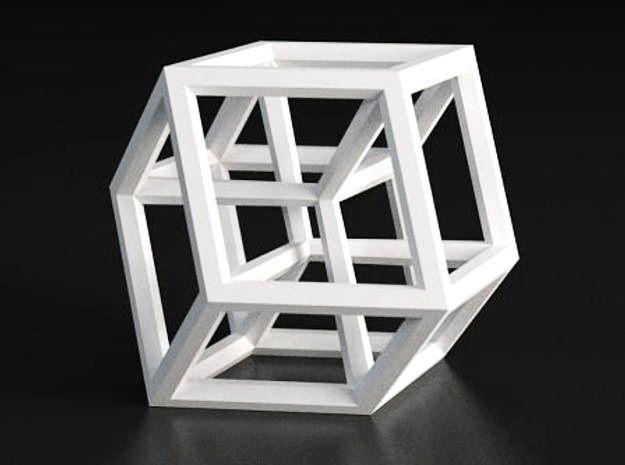 Hypercube B (11cm) by Bathsheba