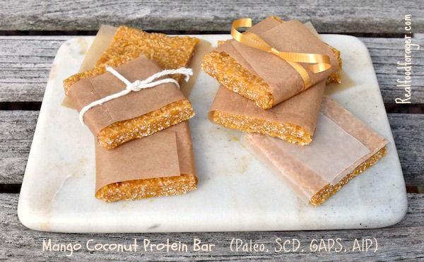 Recipe: Mango Coconut Protein Bar (Paleo, SCD, GAP…Edit description
