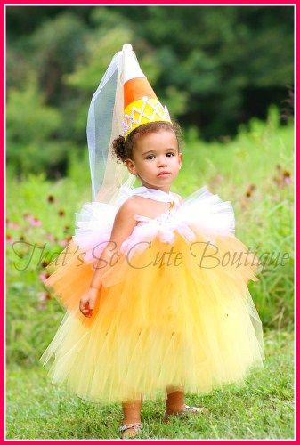 candy corn princess tutu dress love this - Halloween Tutu Dress