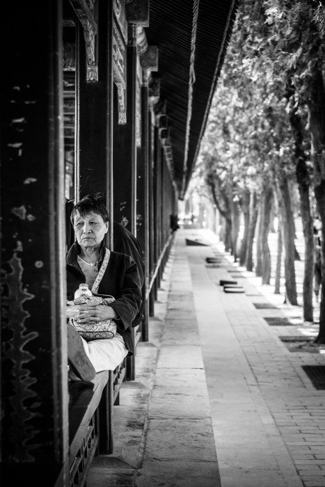 Old Woman in Summer Palace, Beijing