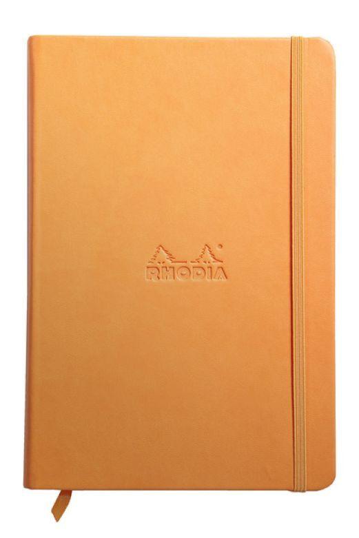 RHODIA Rhodiarama Orange Lined 90 g 96 sh 5 ½ x 8 ¼