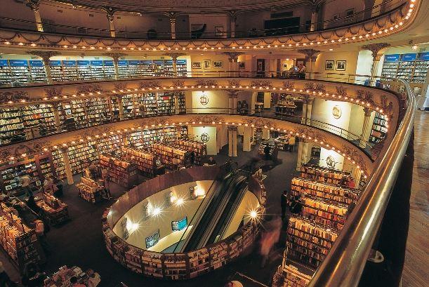 Libreria El Ateneo Grand Splendid Edificio del ex-cine Gran Splendid, año 1919.
