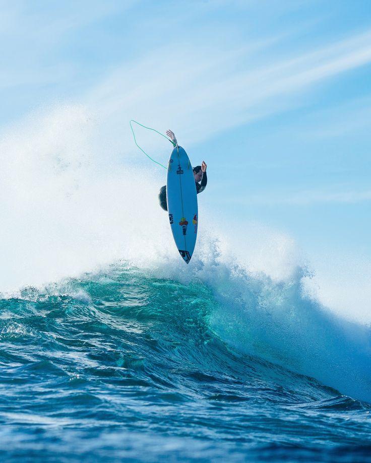 Jordy eyeing his landing during a free surf at the 2016 Drug Aware Margaret  River Pro