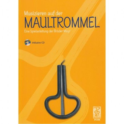 Musizieren auf der Maultrommel - German Playing Instructions by the Mayr Brothers (with CD) - A short playing instructions manual for the Jew's Harp in the German Alps style written by Helmuth and Fritz Mayr. This manual contains an introduction into Jew's Harps basic playing techniques and effects and lead up to the melodious playing with four tuned Jew's Harps. #guimbarde #jewsharp #maultrommel #musique