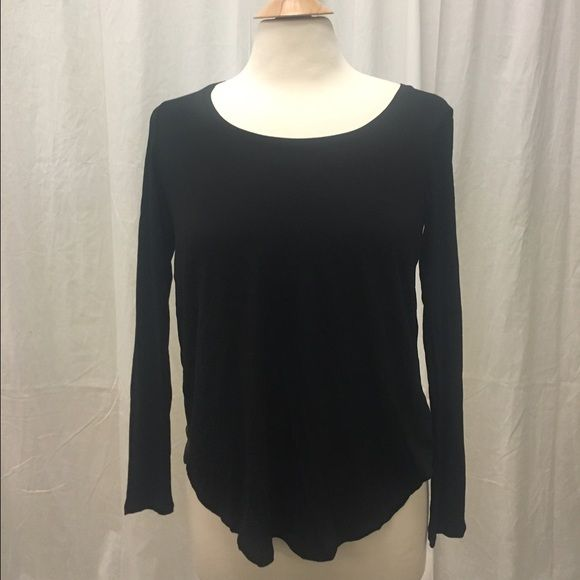 NWT originally $129 Club Monaco shirt NWT originally $129 club Monaco black shirt for only $30 Club Monaco Tops Tees - Long Sleeve