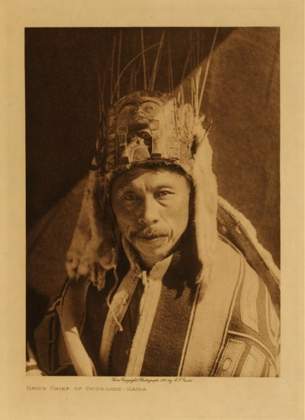 Haida Raven Chief Of Skidegate