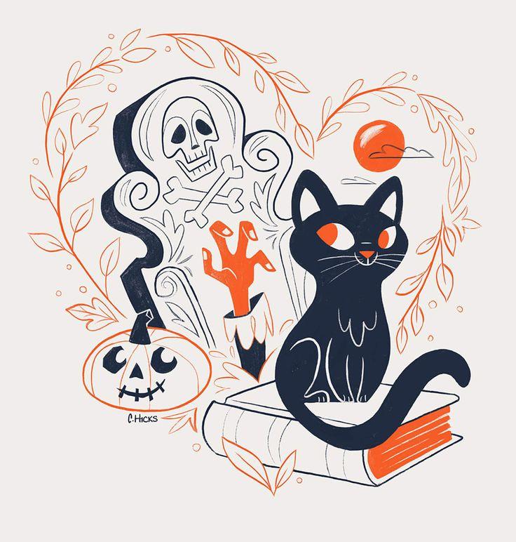 10 diseños espeluznantes para inspirarte este Halloween
