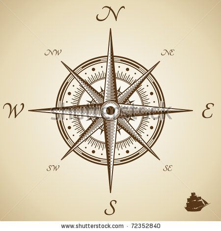 48 best images about Compass rose on Pinterest | Compass ...