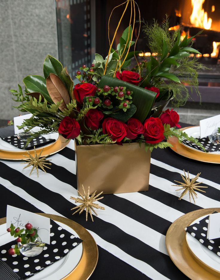 68 best kate spade inspired tablescape party box images on for Black and white tablescape ideas