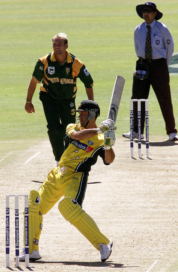 Ponting's ODI career is over. I'll miss his pull/hook shots.