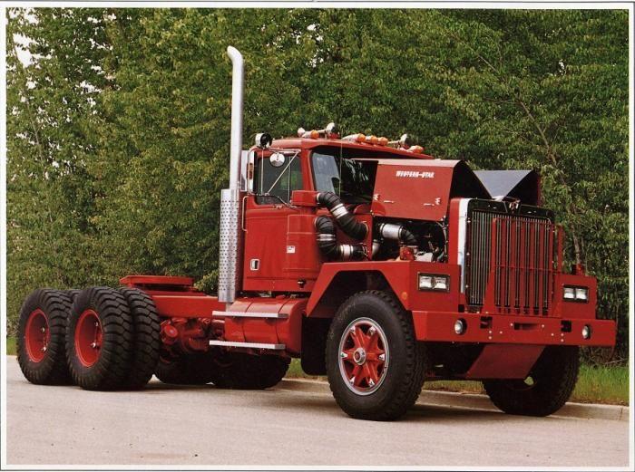 western star truck vintage