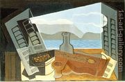 The Open Window  by Juan Gris