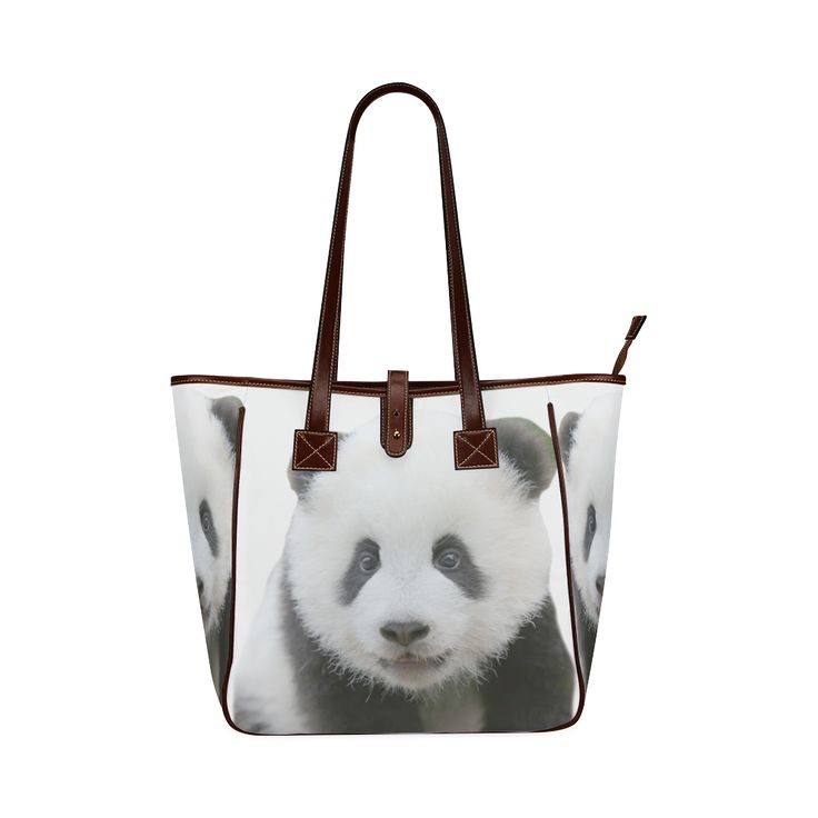 Panda Bear Classic Tote Bag (Model 1644)