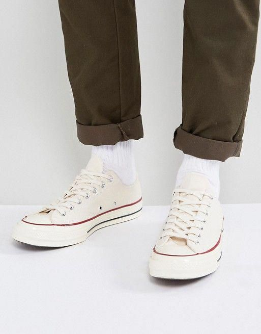 e219d9803fbd Converse Chuck Taylor All Star  70 Ox Sneakers In Parchment 142338C   sneakersconverse