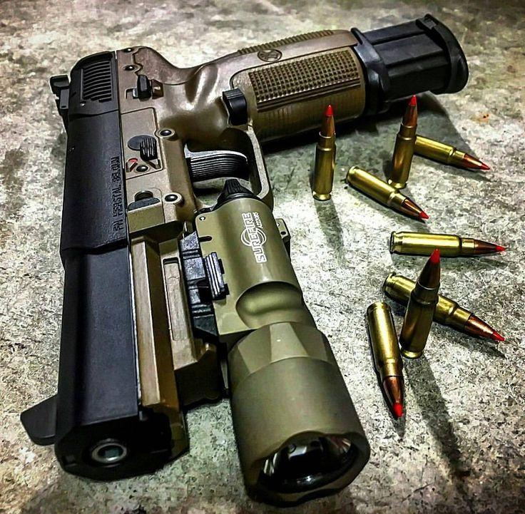 From: @dailypistol -  YES YES YES @illmanneredgunrunner707  #DailyPistol  #gunsdaily #gunporn #fnh #tactical #fiveseven #badass #pewpew #handgun #molonlabe #2ndamendment #donttreadonme #staythecourse #gunfanatics #weaponsreloaded #weaponsdaily #dailypic #ammunition #ammo #awesome #firearms #2a #iggun #igmilitia #america #merica #freedom by _triplegee