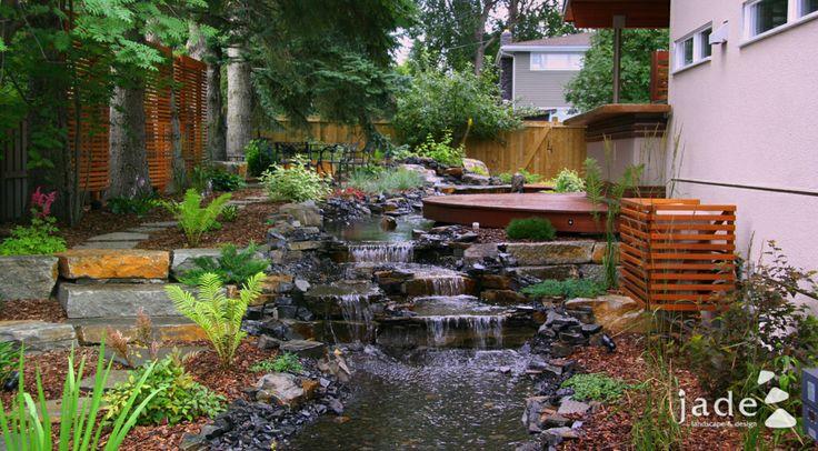 17 Best images about Landscape/ Ponds, Waterfalls, Stream Design Ideas ...