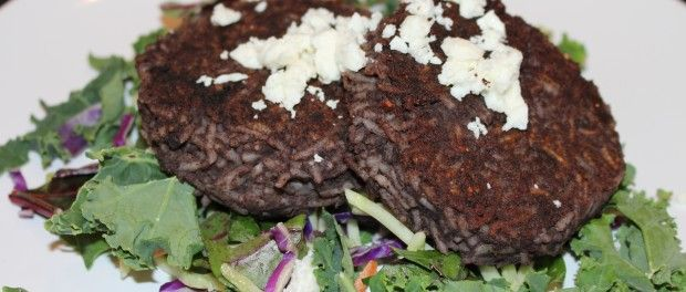 Black Bean and Rice Patties