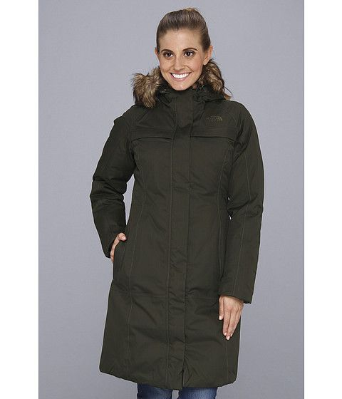 The North Face Arctic Parka Fig Green, The North Face, Clothing