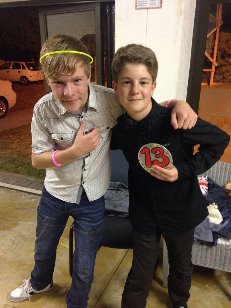 Dan and his mate Luc