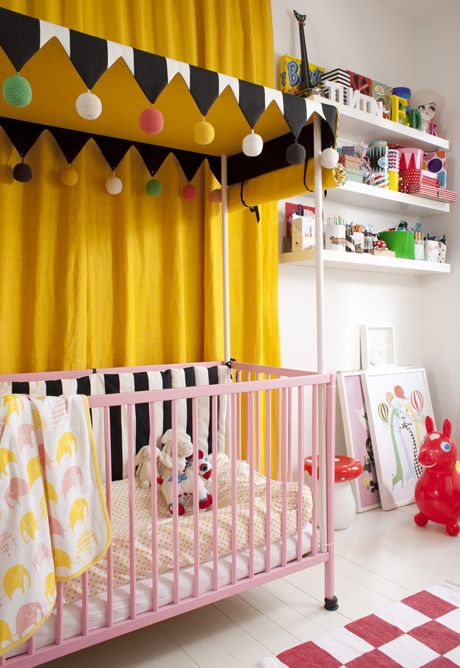 17 best ideas about canopy over crib on pinterest girl for Above crib decoration ideas