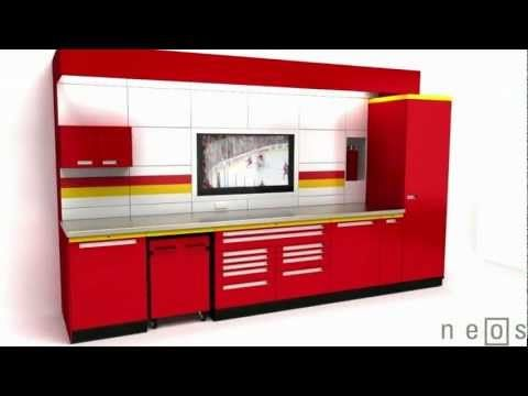 The Bill Goldberg Quality Storage Cabinets Accessories Collection By Garage Envy Is An Extraordinary High System