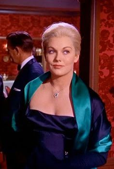 Kim Novak in 'Vertigo' (1958). Costume Designer: Edith Head