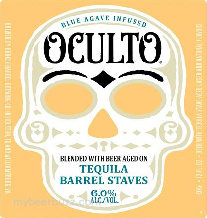 mybeerbuzz.com - Bringing Good Beers & Good People Together...: Anheuser-Busch Updates Oculto Tequila Beer Packagi...