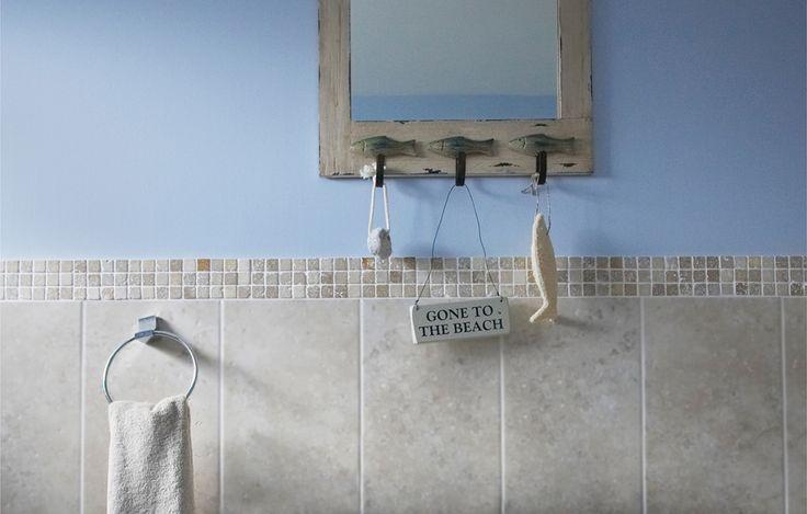 Seaside bathroom | Bathroom details | Bathroom ideas | Bathroom interior | Bathroom decor | Bathroom interior design | Interior design