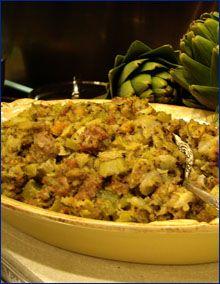 Artichoke and Fennel Stuffing | All about artichokes | Pinterest