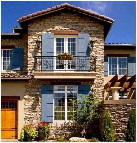 Фасад дома: чем хорош искусственный камень? #фасаддома #искусственныйкамень #отделка #строительство