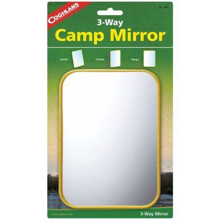 "Coghlan/'s 650 3-Way Camping miroir 5/""x7/"""