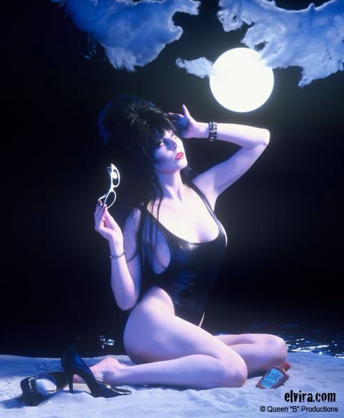 Elvira Moonbathing.: