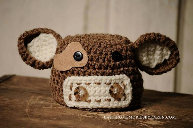 Ravelry: Cow hat and Diaper Cover pattern by Made by Miki