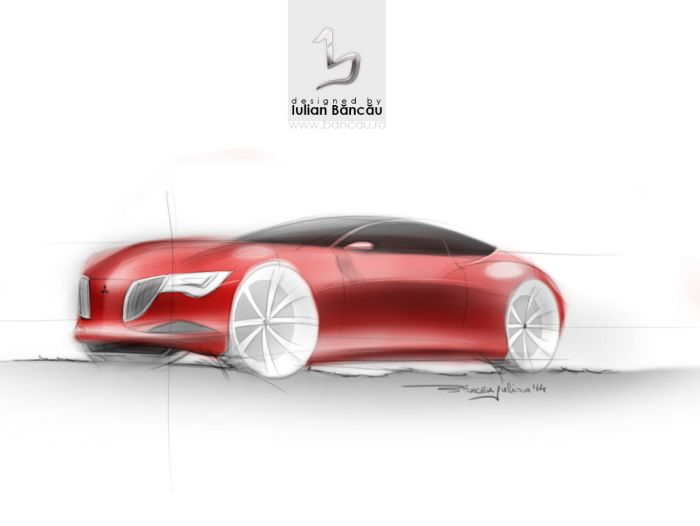 #Mitsubishi #concept Designed by me