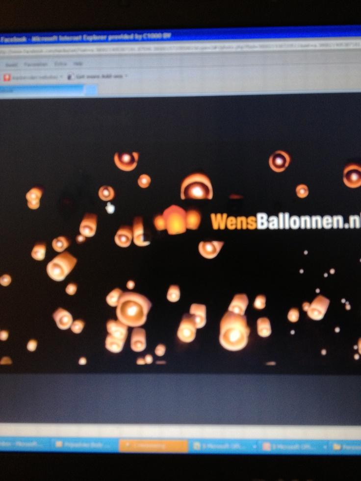 Wensballonnen - 125 voor 50 stuks