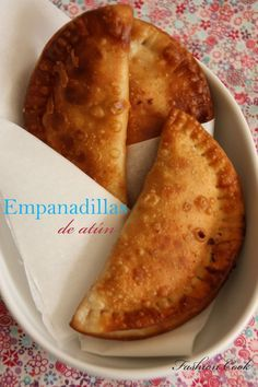 Empanadillas de atún thermomix