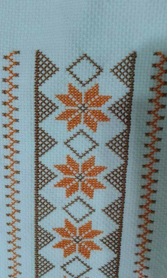 "Pretty X-stitch border [   ""Ese me gusta"" ] #<br/> # #Straight #Stitch,<br/> # #Cross #Stitch,<br/> # #Cross #Stitch,<br/> # #Embroidery<br/>"