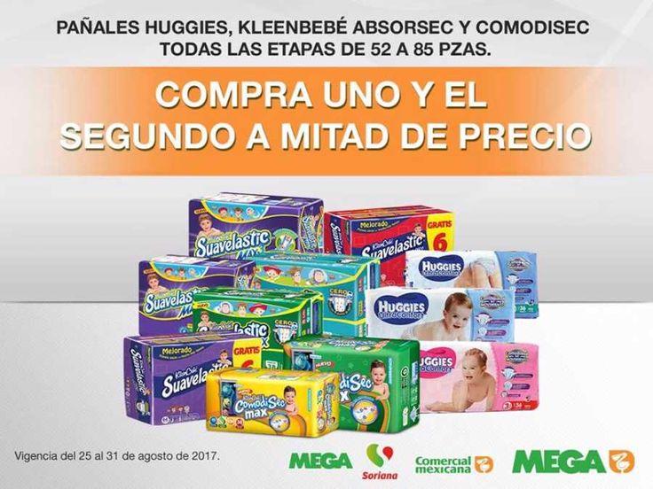 Este fin de semana en las tiendas Comercial Mexicana y Mega podrás encontrar las siguientes ofertas y promociones del 25 al 27 de agosto 2017:Ofert...
