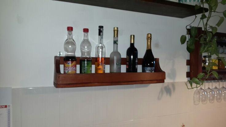 Mensola porta bottiglie