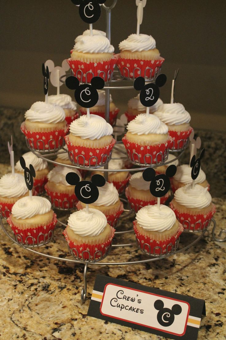Mickey Mouse Clubhouse Birthday Party | Crew's Cupcakes