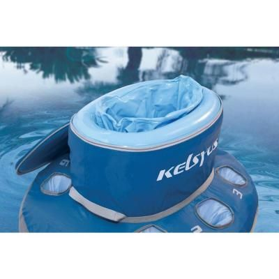 For all those serious river rats out there, stay hydrated while never leaving pool, river, or lake! Kelsyus 12 qt. Floating Cooler-80010K - The Home Depot