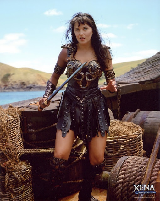 Xena ( Lucy Lawless )